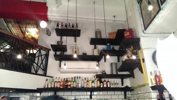 Pretty Lights above the bar @ Mamagoto, Kala Ghoda