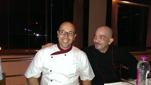 Chef Pasqualino and Chef Davide @ Mezzo Mezzo, JW Marriott