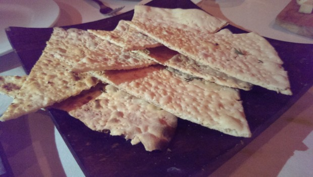 Regular Flat bread @ Mezzo Mezzo, JW Marriott