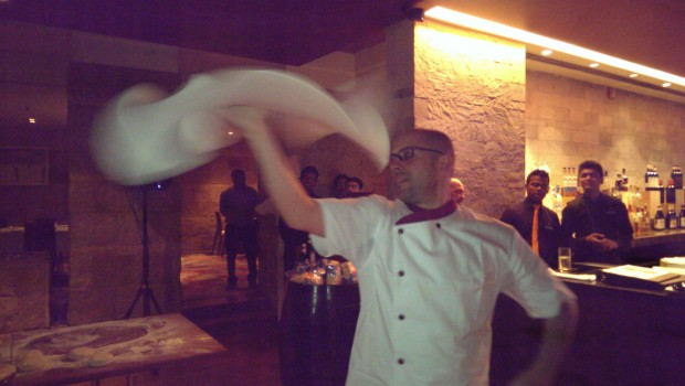 Chef Pasqualino in Action @ Mezzo Mezzo, JW Marriott
