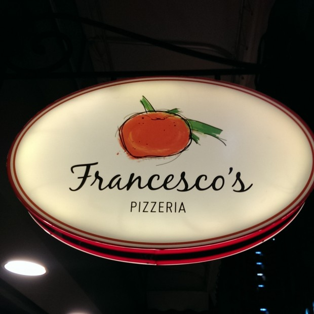 Franceso's Signboard @ Francesco's, Lower Parel