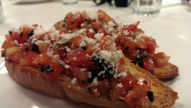 Bruschetta @ Francesco's Pizzeria, Lower Parel