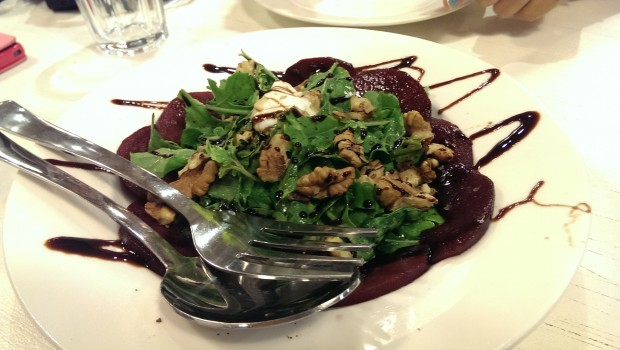 Pear and Arugula Ambrosia @ Francesco's Pizzeria, Lower Parel