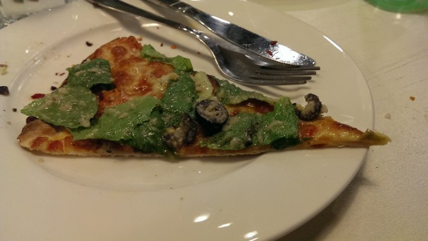 Brutus Pizza @ Francesco's Pizzeria, Lower Parel