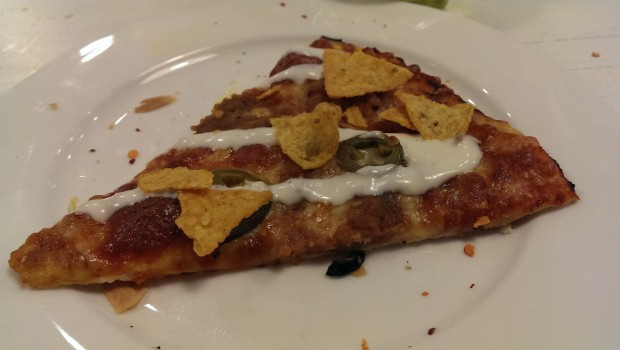 Notorious Nacho's Pizza @ Francesco's Pizzeria, Lower Parel