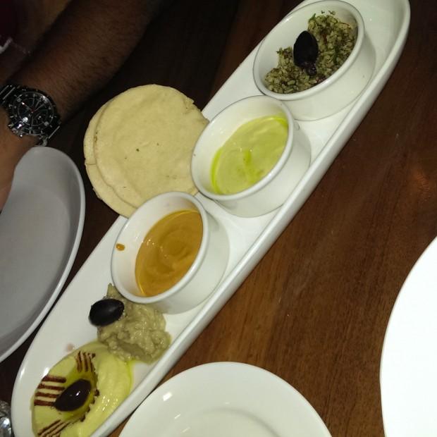 Mezze Platter @ Oven Fresh, Dadar