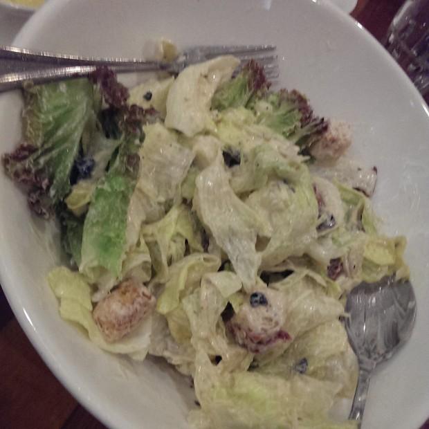 Caesar's Salad @ Oven Fresh, Dadar