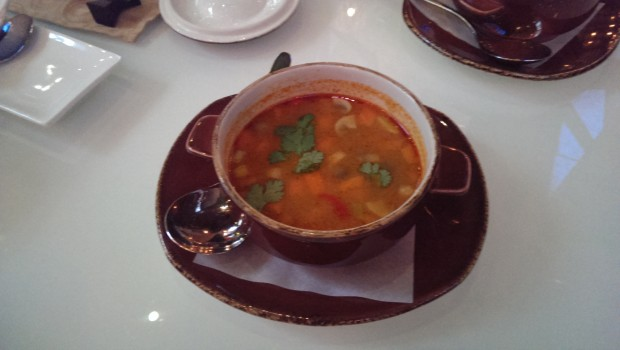 Tom Yum Hed Soup @ O:h Cha, Lower Parel