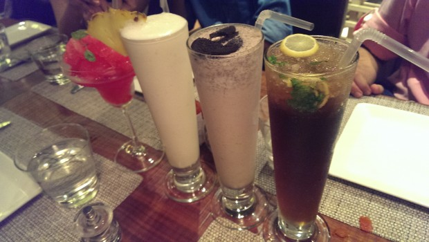 Assorted Mocktails @ Ristorante Prego, Nariman Point