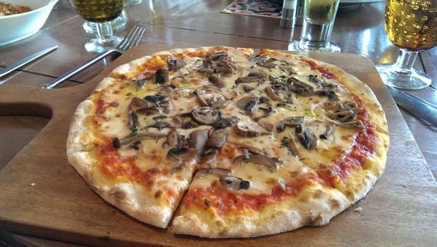 Funghi Pizza @ JW Marriott, Phuket