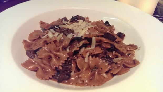 Mushroom Ragout Pasta @ Indigo Deli, Bandra