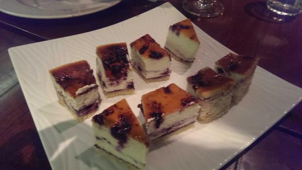 Blueberry Cheese Cake @ Indigo Deli, Bandra