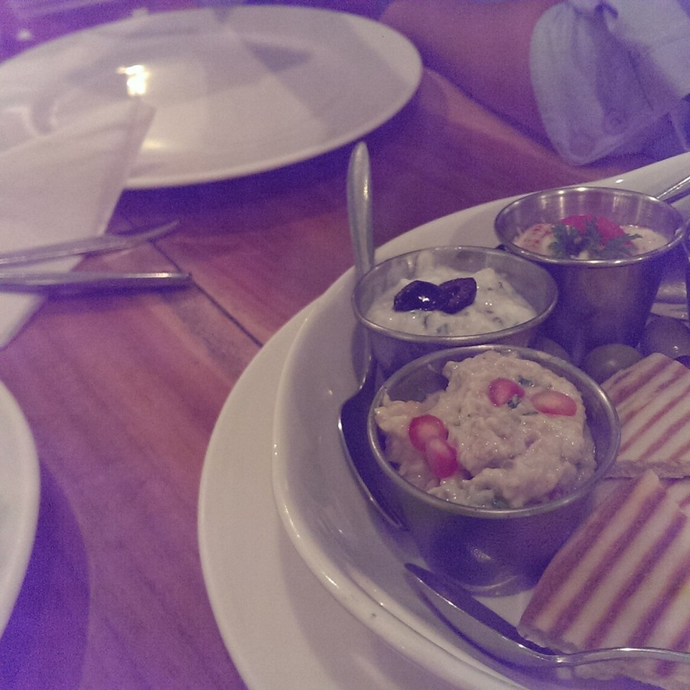 Mezze Platter @ Eat around the corner, Bandra