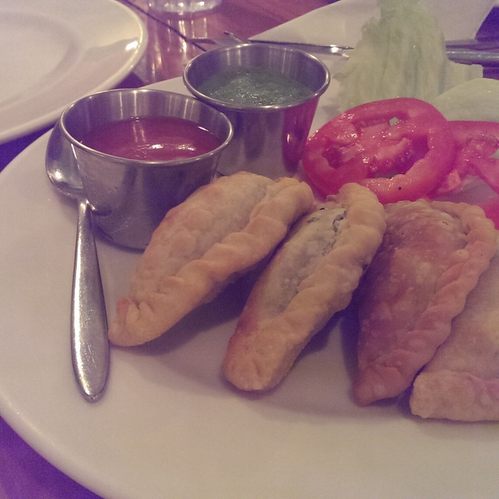 Spinach and Feta Cheese Empanadas @ Eat around the corner, Bandra