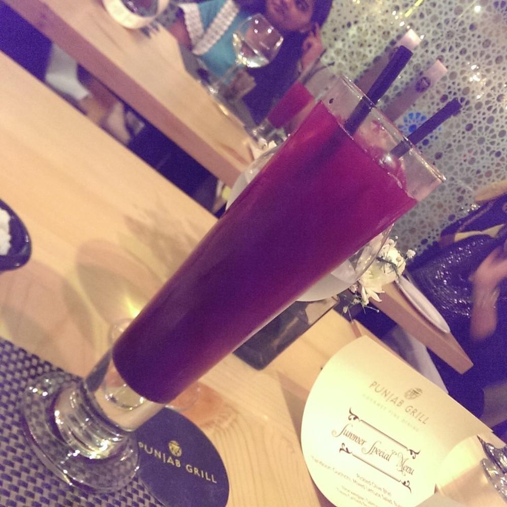 Jamun Iced Tea @ Punjab Grill, Andheri