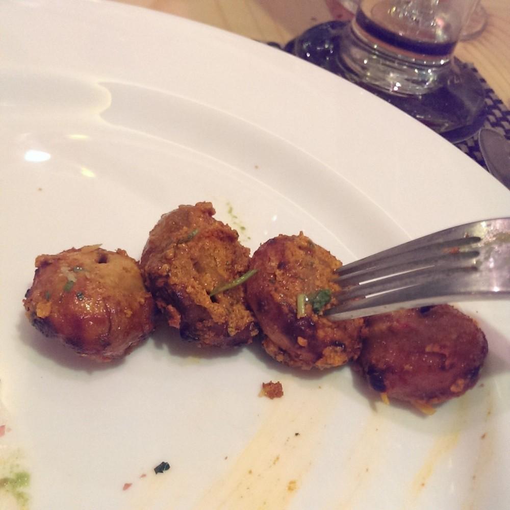 Tandoori Mushrooms @ Punjab Grill, Andheri