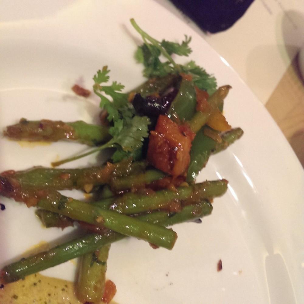 Tawa Asparagus @ Punjab Grill, Andheri