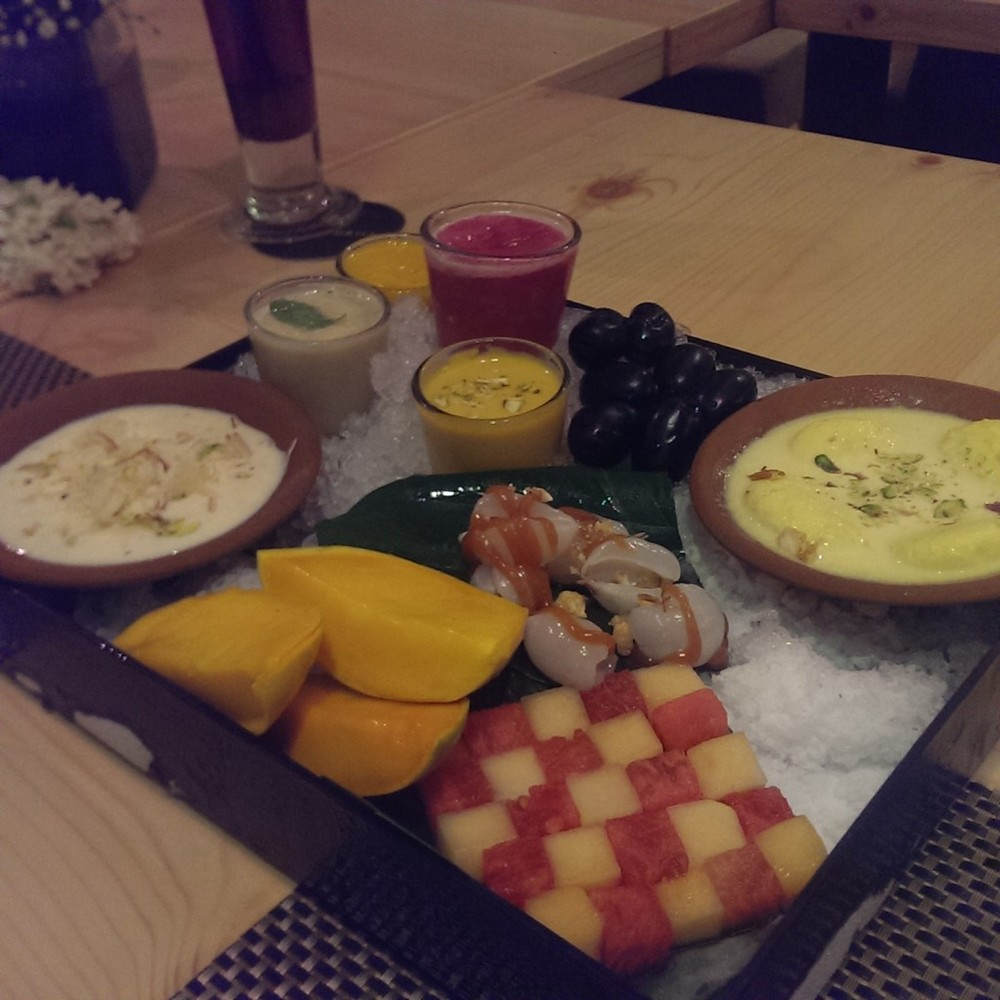 Summer Dessert Platter @ Punjab Grill, Andheri
