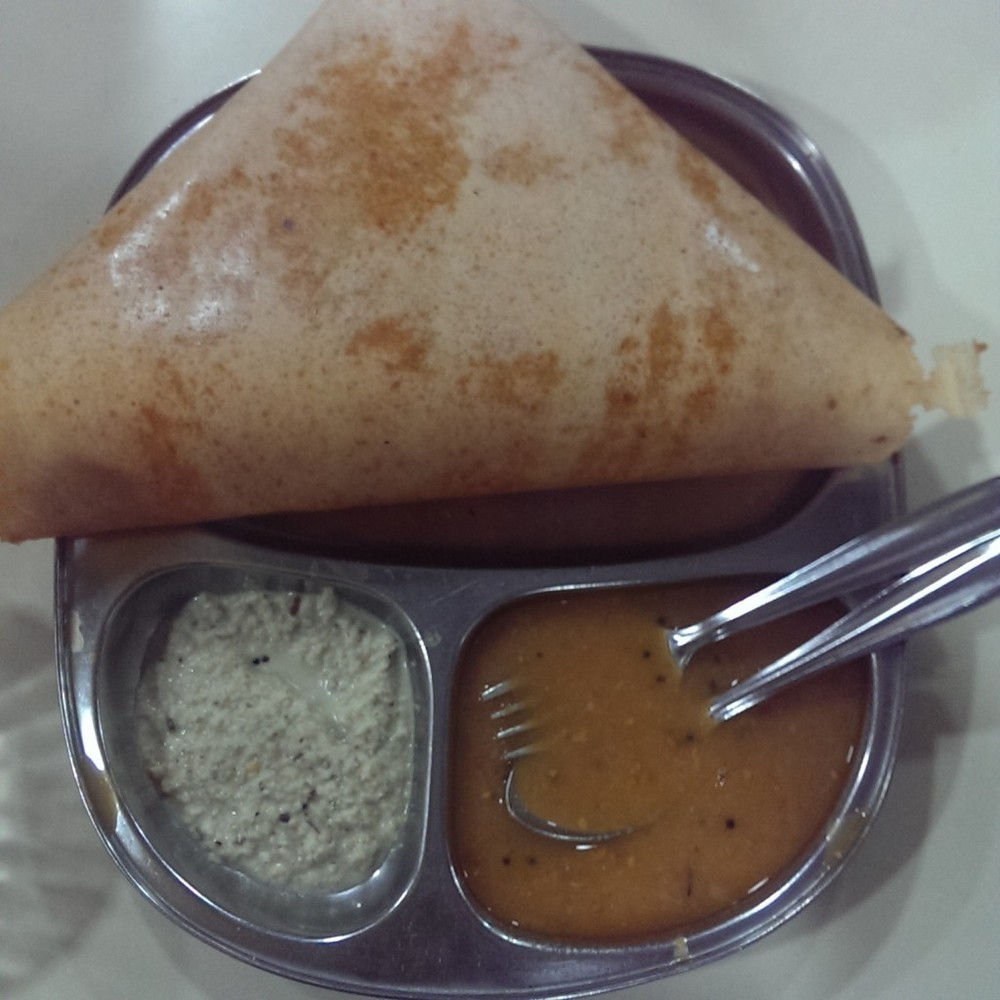 Mysore Sada Dosa @ Cafe Mysore, Matunga