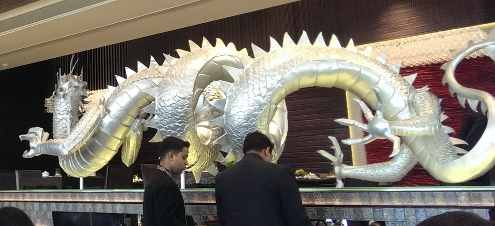 The Dragon dominating the center of Ming Yang