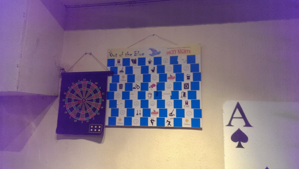 Fancy your skill at darts @ Out of the Blue, Khar