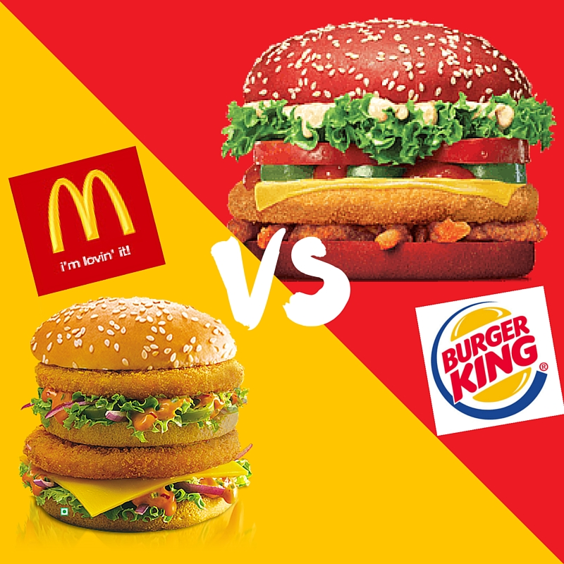 mcdonald s and burger king essay example The tools you need to write a quality essay or to eating out - burger king 1 and choose the toppings for their burger however, mcdonald's made-to.
