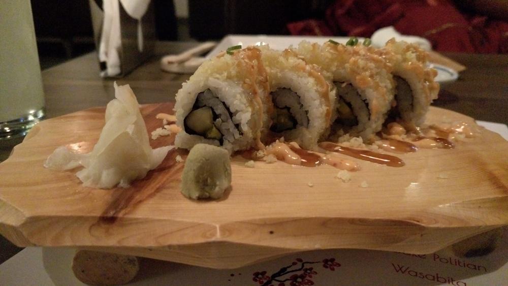 Crispy Veg Sushi