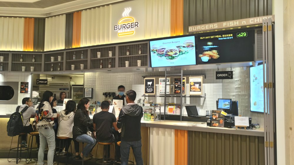 Burger Republic Facade