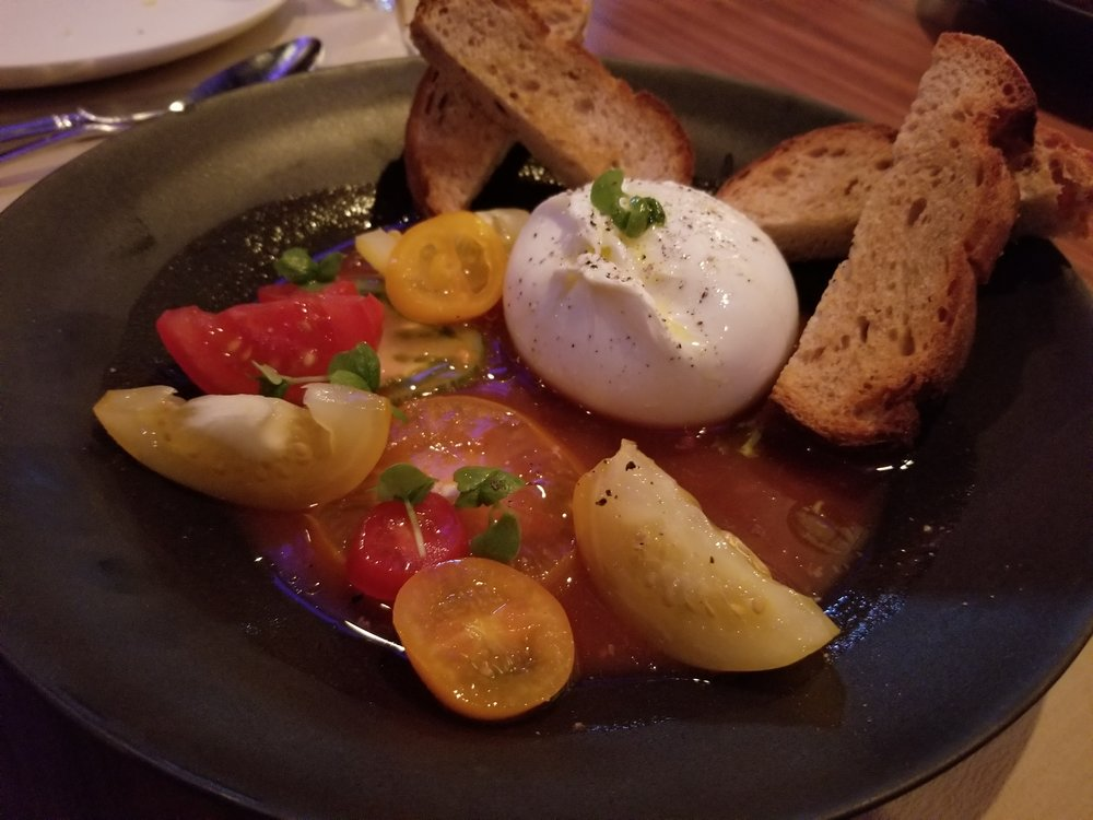 Burrata and Tomato Salad