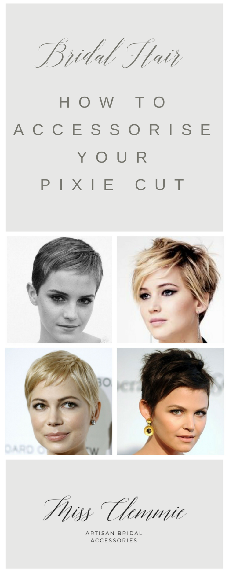 A Bride to Be asks .... Should I grow out my short cut for my ...