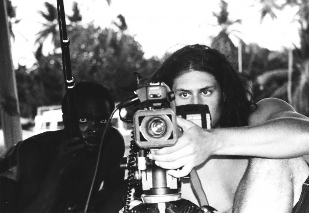 On location in Jamaica back in 2001 shooting my first feature film ROOTS TIME.