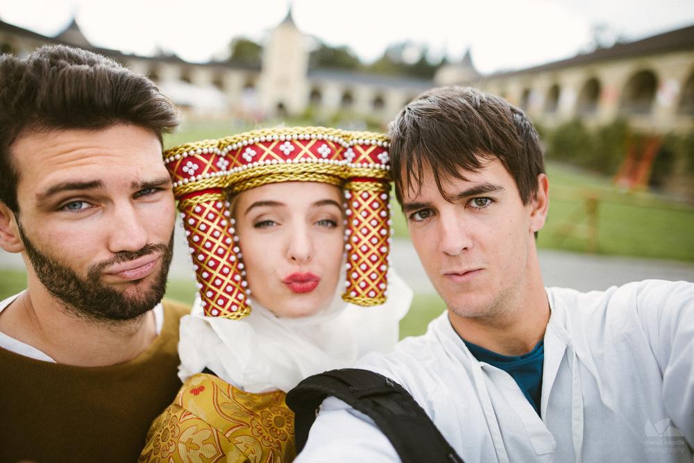 Panoš, princezná a fotograf :)