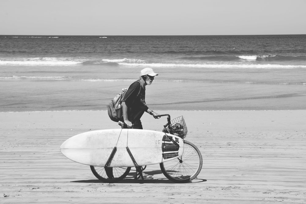 Salt Water bike