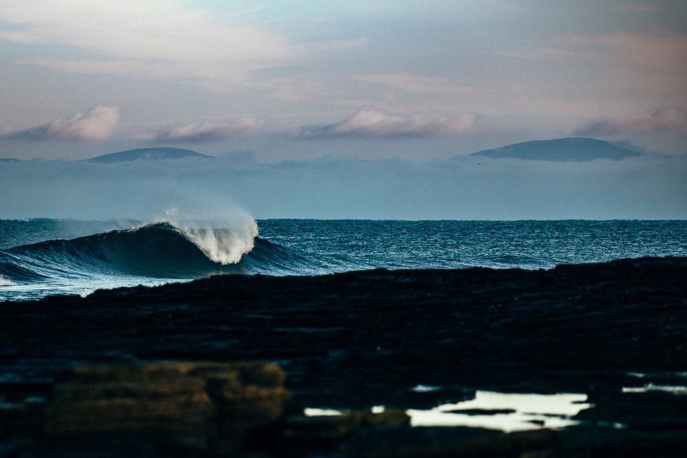 Salt Water Dan petermann scotland wave