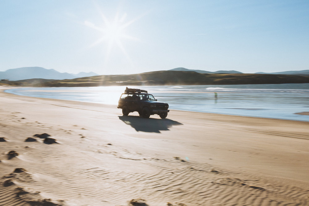 Salt Water Dan petermann scotland landrover