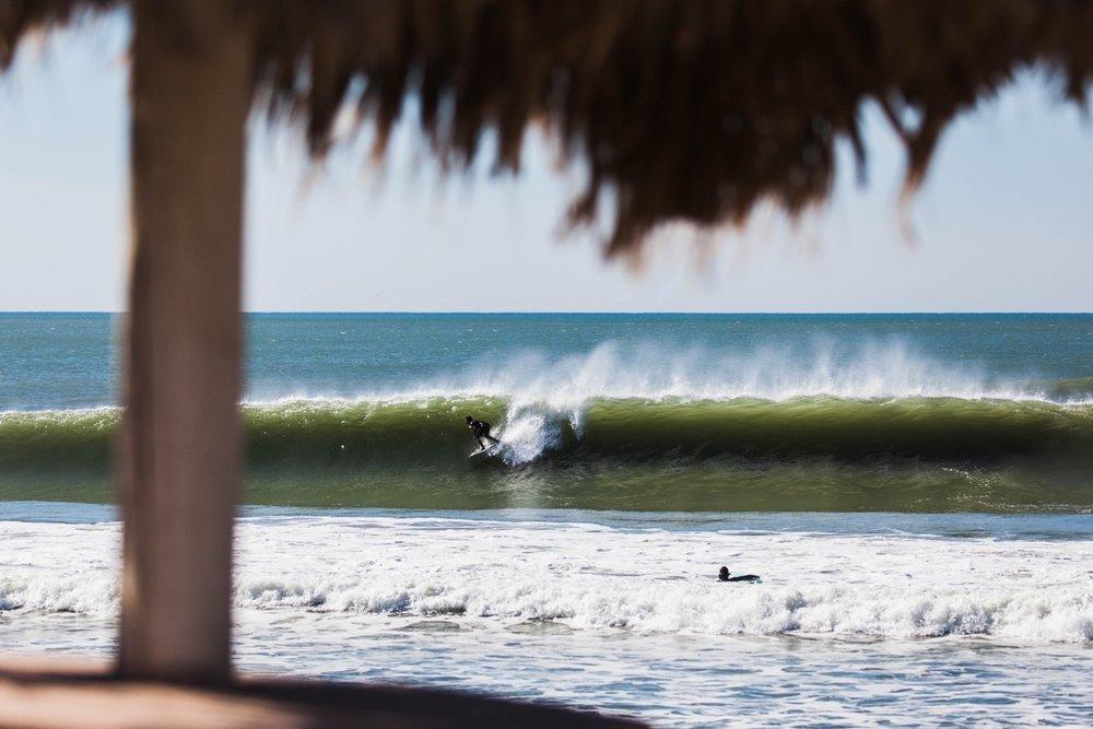 Salt Water Claire Murphy surf mexico barrel