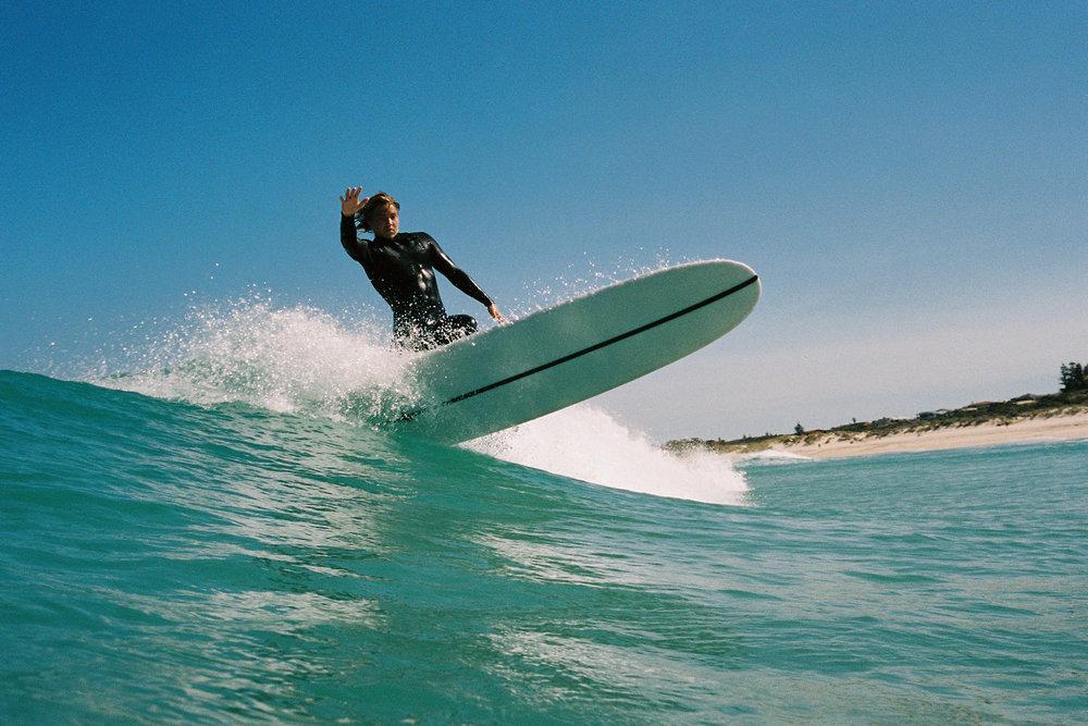 Salt Water Australia surf longboard