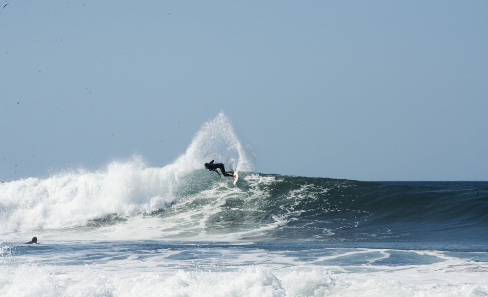 surf turn salt water popoyo