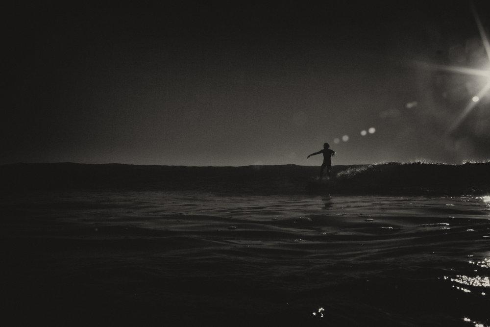salt water surf