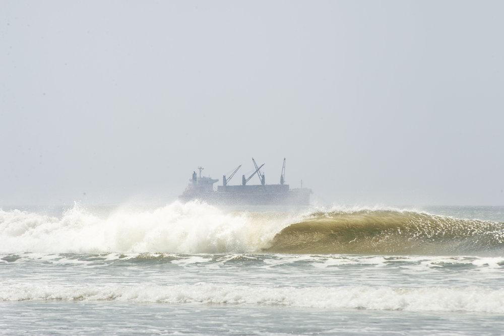 salt water Nicaragua wave