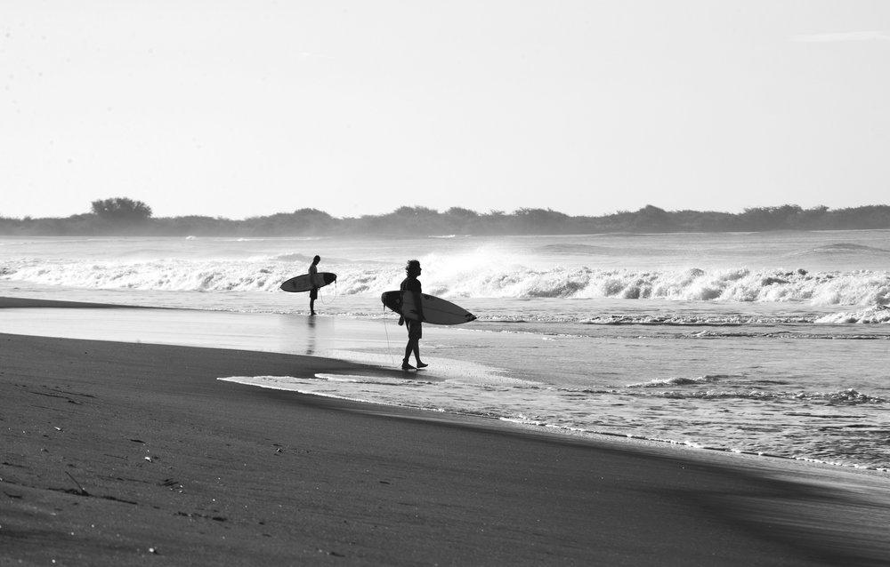 saltwater surfers