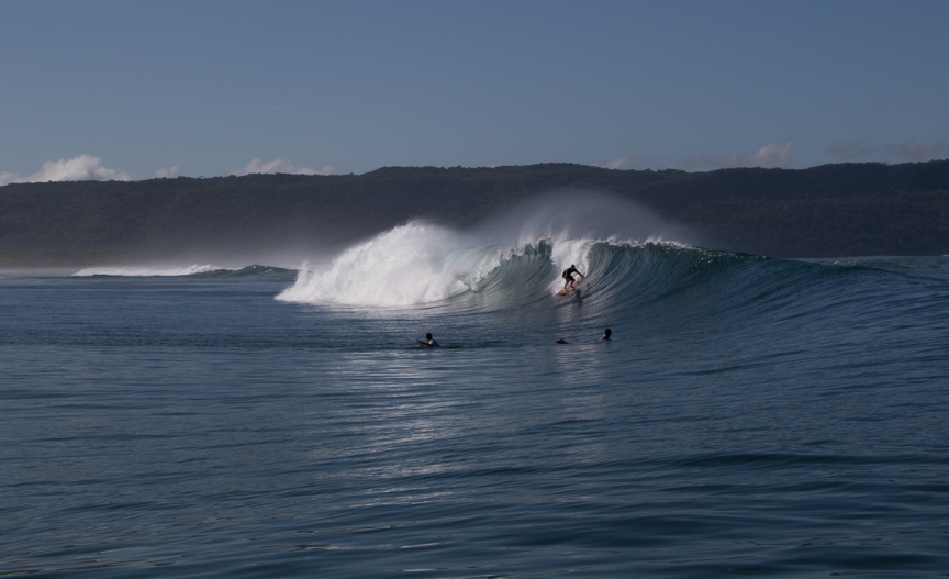 Salt water Nicoya surf 6