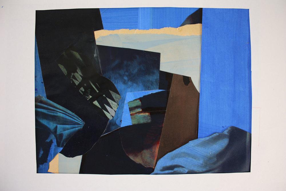 Collage 1 - 33 x 25 cm