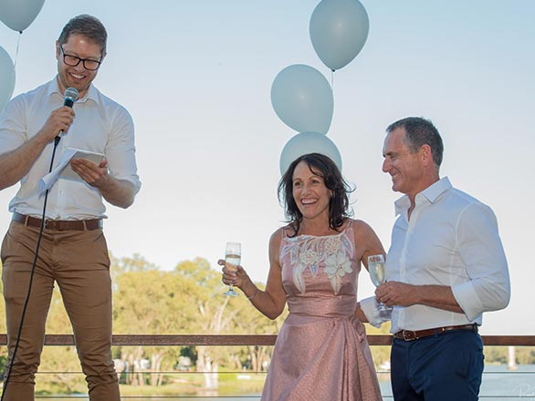 If you are planning on getting married in Melbourne, 100% ask Paul to be your celebrant. - Emma S - 19/06/2017Farm Vigano - South Morang