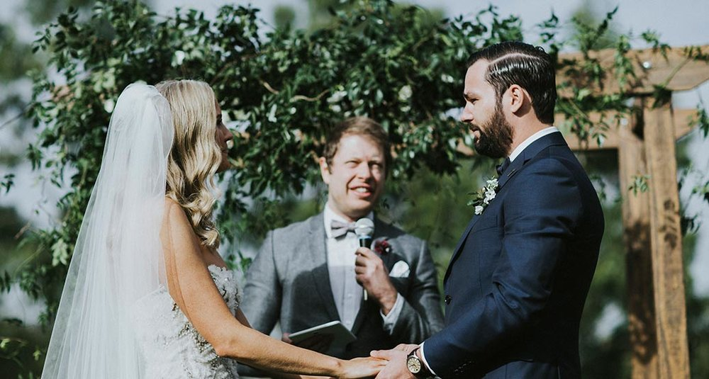 """""""Paul was the best celebrant we could have hoped for, for our Baby Shower turned Surprise Wedding!"""" Katelyn and Mike - November 3 2018"""