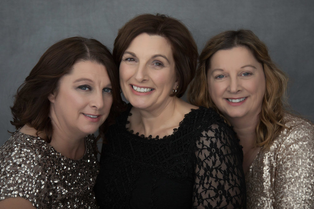 Sisters fab at 50 makeover Photoshoot Lincolnshire Rutland