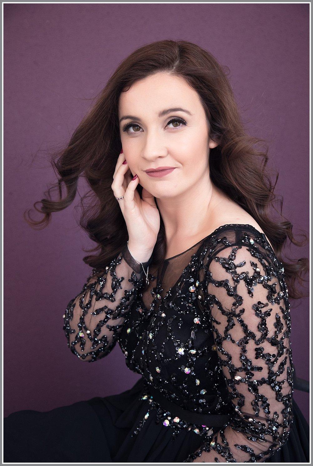 Elegant Makeover Photo Shoot Mother Glamorous Jade Hicks Portrait Studio Rutland Lincolnshire
