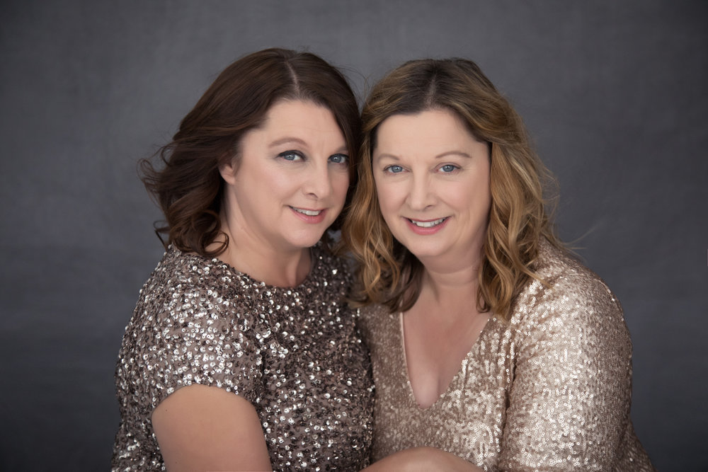 sisters photo shoot family photography makeover session grantham stamford oakham