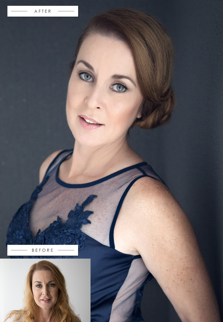 Sharon - Commercial model, Hair Stylist and all round superwoman, see more of Sharon's glamourous transformation here...