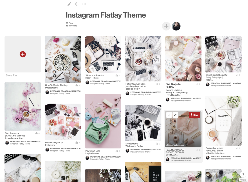 creating flatlay images for instagram Jade Hicks Photography and Film